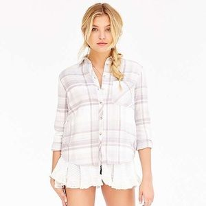 BDG Lace Layer Flannel